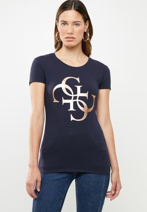 65c4b87895b6 Short sleeve quatro T-shirt - navy