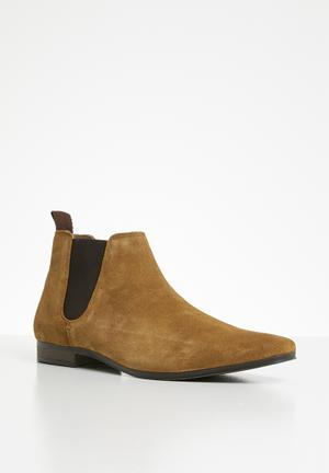 18bce69830 Strauss chelsea boot - tan