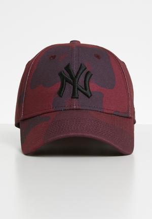 6477743c6da 940 camo colour new york yankees cap - maroon