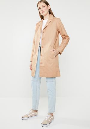 Cali native coat - tan