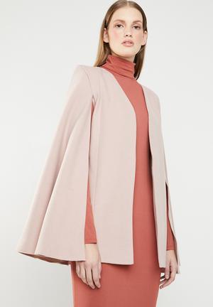 86513e1912c9 Ladies cape - pink