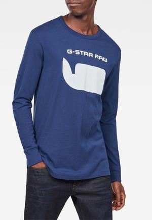e94ecd9a0222 Seii long sleeve tee - blue