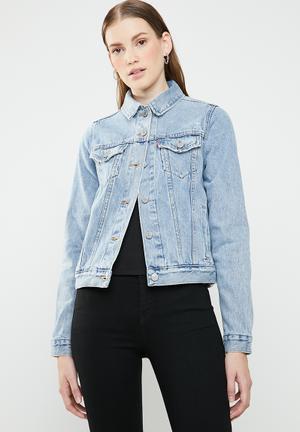 Trucker jacket - blue