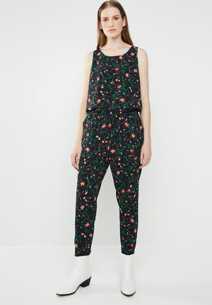 b049555732 Nova lux printed sleeveless jumpsuit - multi