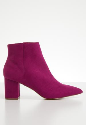 d4284a654db Ankle boot - pink