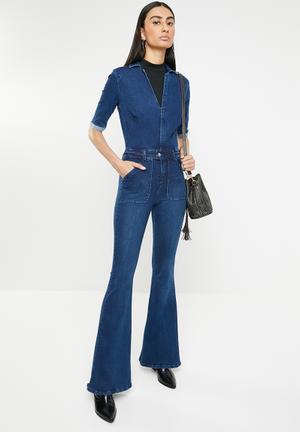 576bbfcbca1 Cotton Blend Jumpsuits   Playsuits for Women