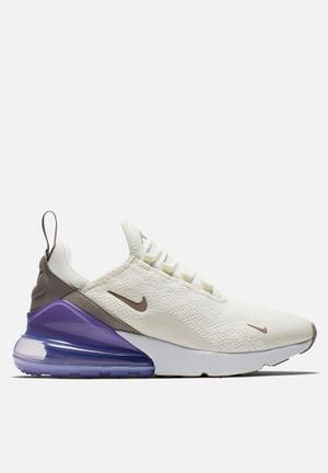 size 40 ba133 720ef Discount. Nike w Air Max 270 - sail   space purple   white   pumice