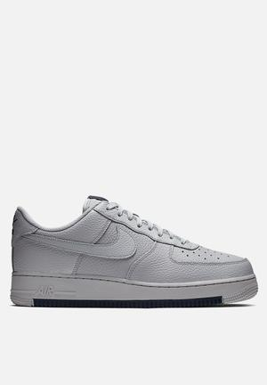 info for 1bf82 2ac28 Nike Air Force 1  07 1 - wolf grey   obsidian   wolf grey