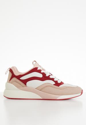 483f37082d6 Flatform sneaker - pink   red