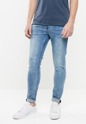 e2d2102a9e783a Trench signature jeans - blue