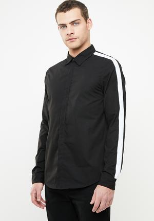 f39066b64 Lotus shirt - black