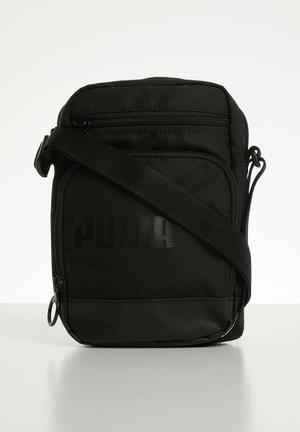 66247c018 Campus portable woven bag - black