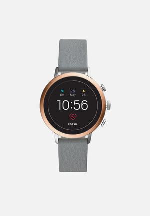 Gen 4 smartwatch - venture HR gray silicone