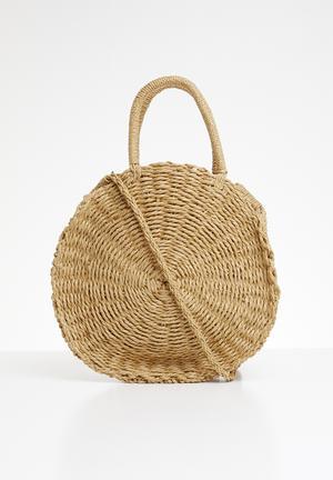 Essie straw bag - beige