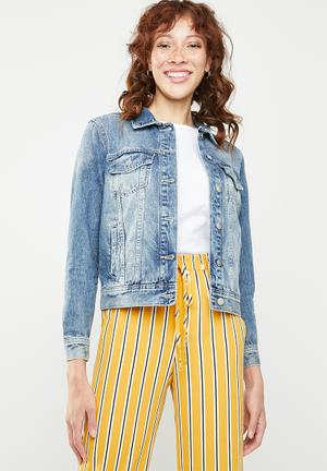 Kaily denim jacket - blue