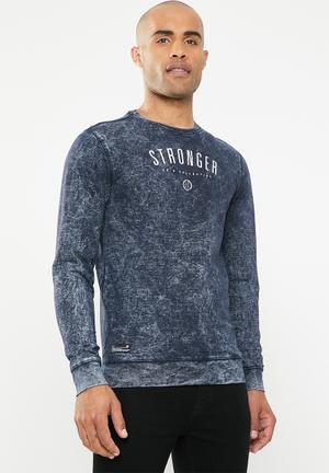 Stack sweatshirt - navy