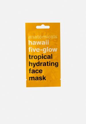 Hawaii five-glow face mask