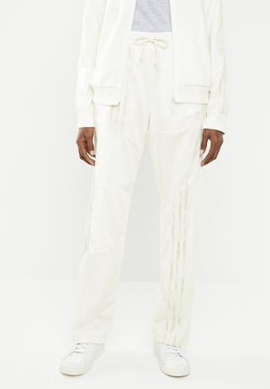 Danielle cathari x adidas originals fire bird tracksuit pants - ivory