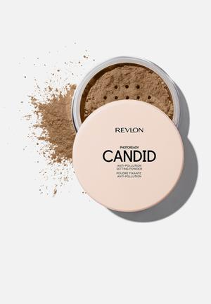 Photoready candid anti-pollution setting powder - dark