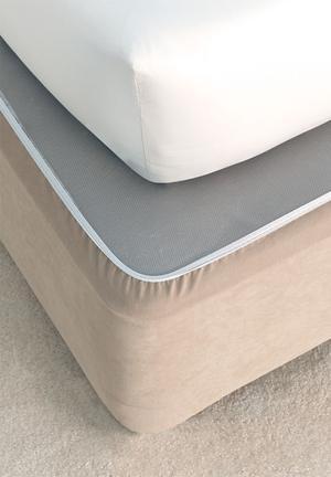 Suedette bedwraps - linen