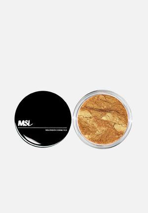 Mineral powder highilghter - true gold