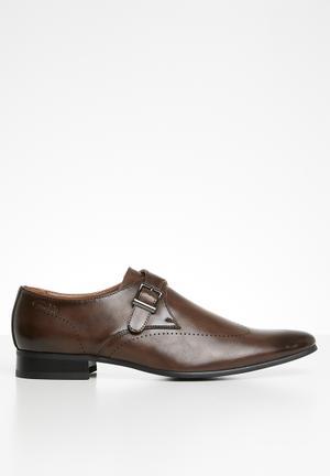 Lucas monk strap shoe - brown