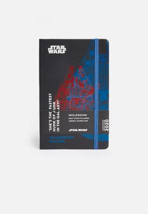 2020 A5 hardcover daily diary - multi