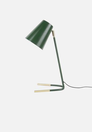 Noble table lamp - green