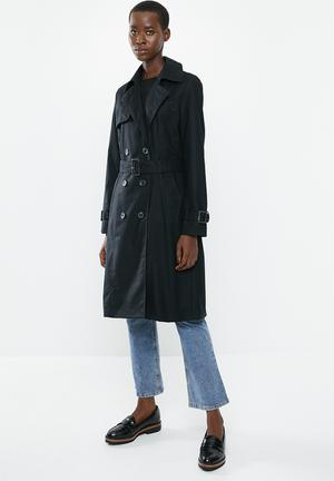 Polana trench coat - black