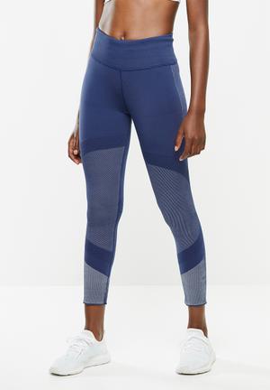 25/7 running tights - tech indigo/grey