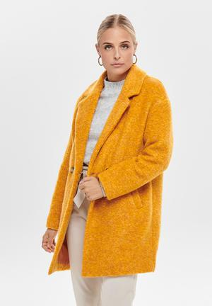 Nina wool coat - yellow