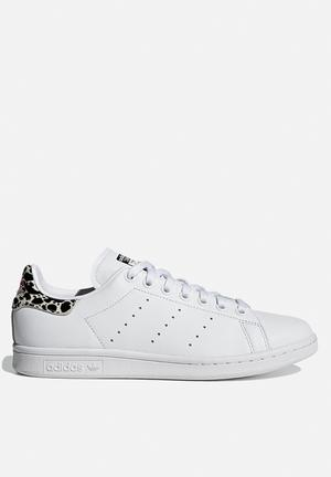 Stan Smith - ftw white / black / shock pink