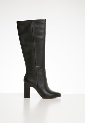 Kedassa leather boot - black