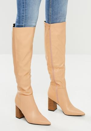Nori over the knee boot - neutral