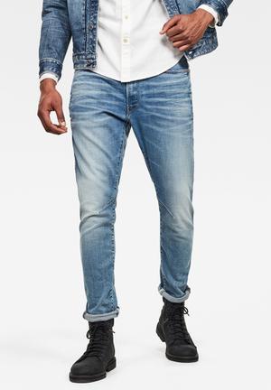 D-staq 3d slim fit superstretch jeans - blue