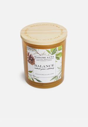100% Natural massage candle - white