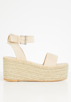 Saffy wedge heel - beige