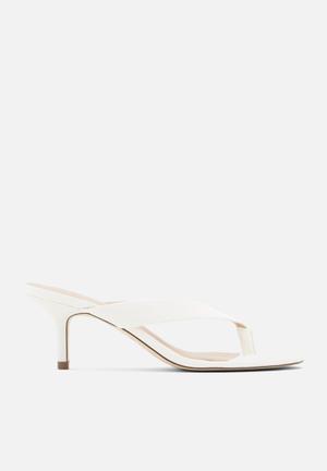 Myla heel - white