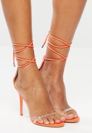 Juju stiletto heel - coral