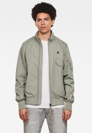 Haworx bomber jacket - grey