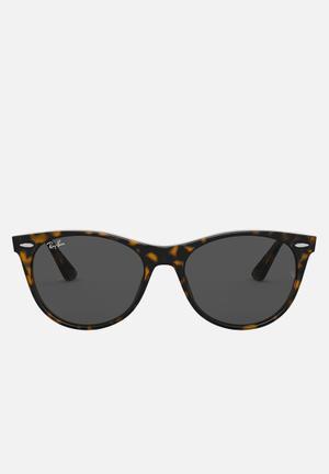 Wayfarer ii sunglasses 55mm - havana & green