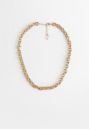 Necklace daphne - gold