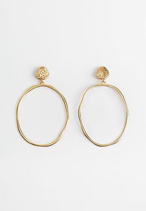 Earrings mina - gold