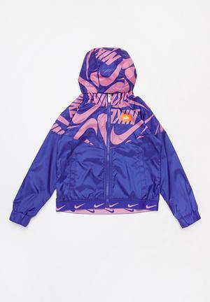 Nkg marker mash jacket - purple & pink