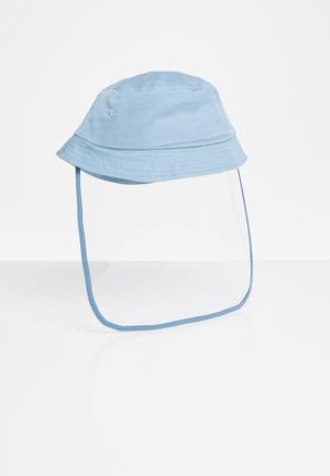 Bucket hat visor - blue