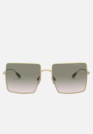 Emporio armani sunglasses square - gold