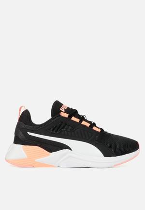 Disperse xt wn's - puma black & nrgy peach