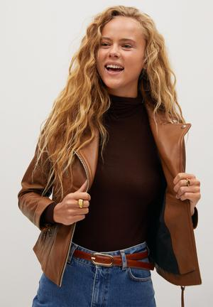 Leather Jacket perfect - brown