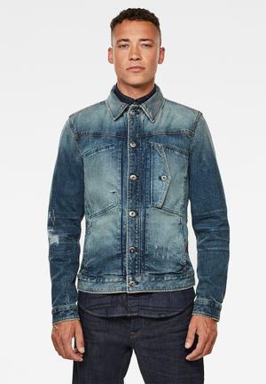 Scutar slim jacket - faded atlas restored
