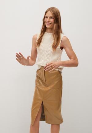 Skirt boli - light beige